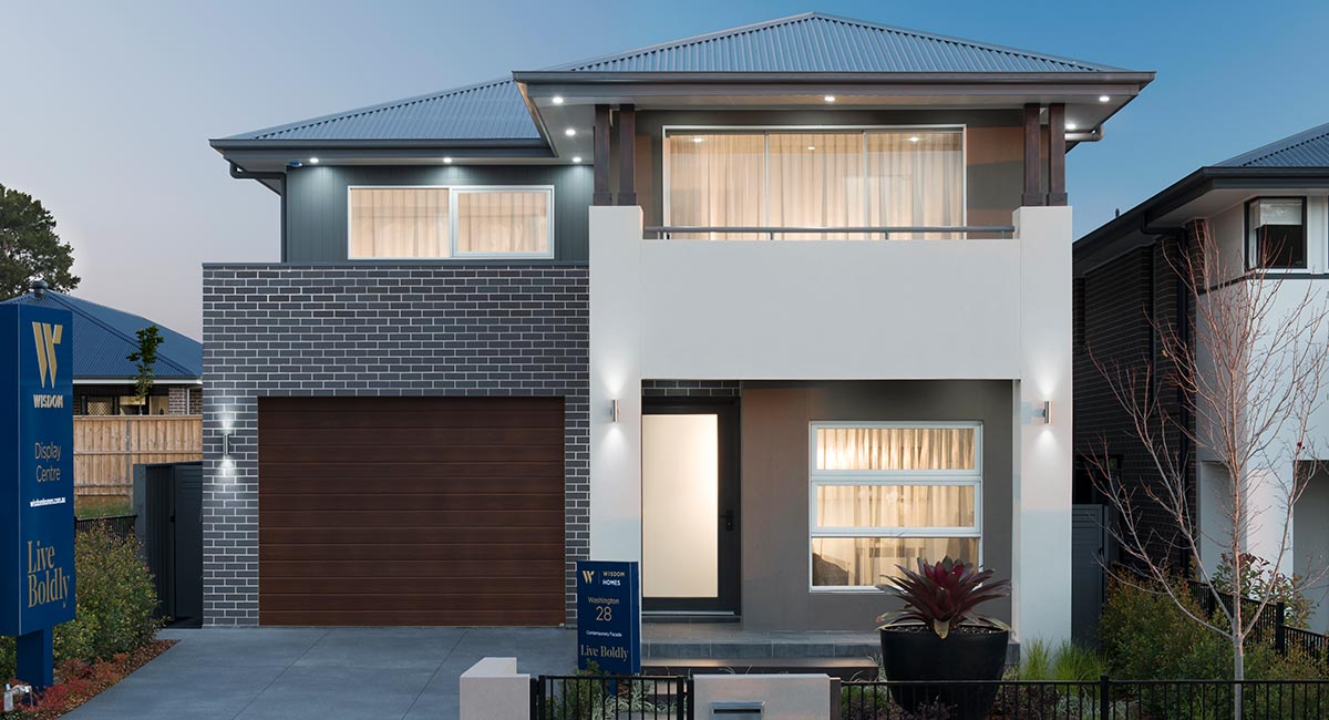 Inspiration Double Storey Home Design | Wisdom Homes