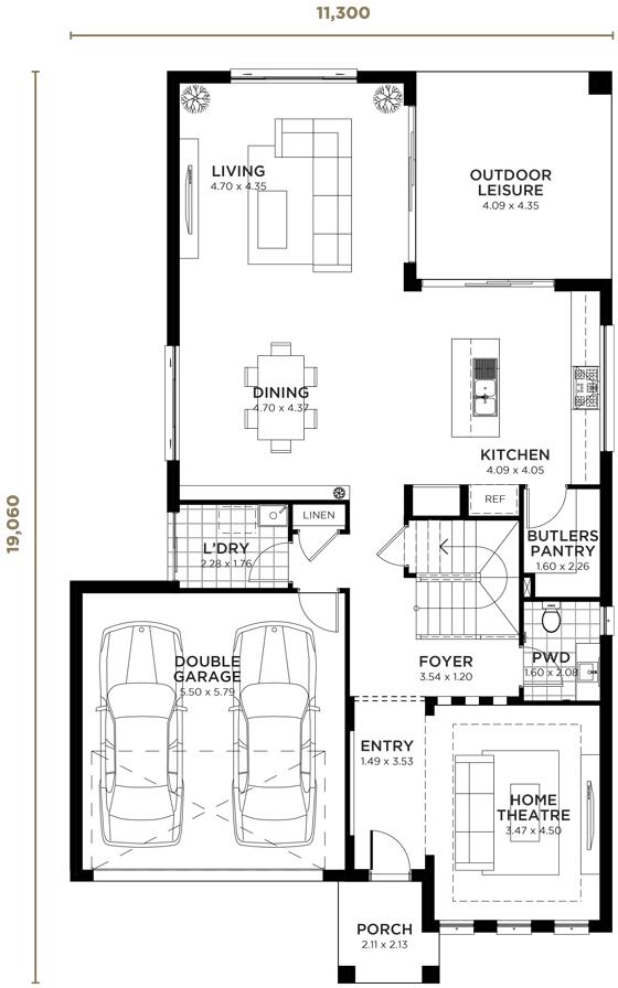 Inspiration Double Storey Home Design Wisdom Homes