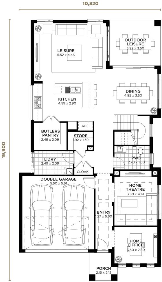 Majestic Double Storey Home Design Wisdom Homes