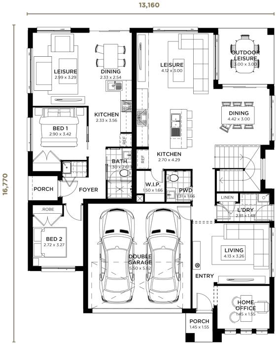 Washington Dual Living Dual Living Home Design Wisdom Homes